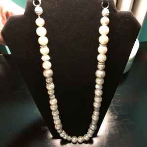 Stony Pearl Necklace